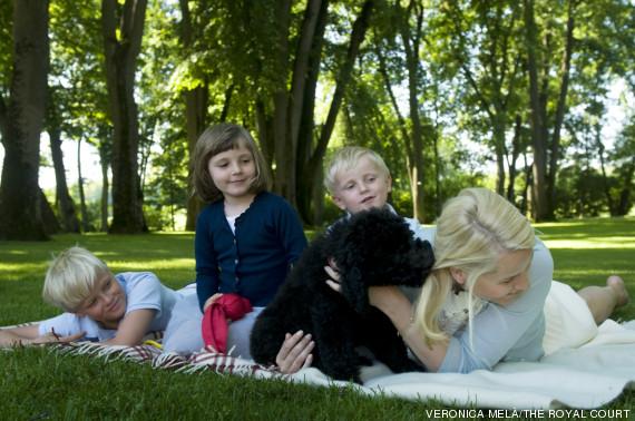 noruega niños campo