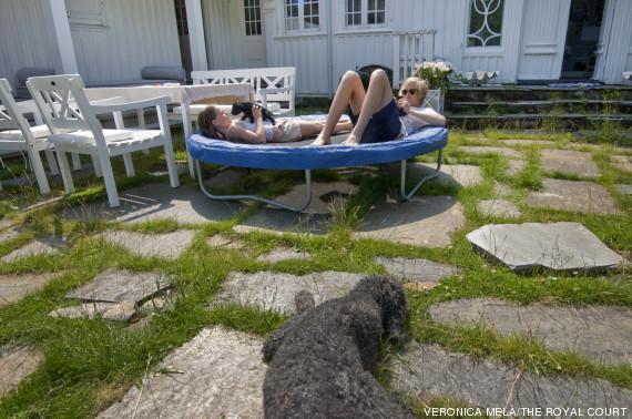 cama elastica principes noruega