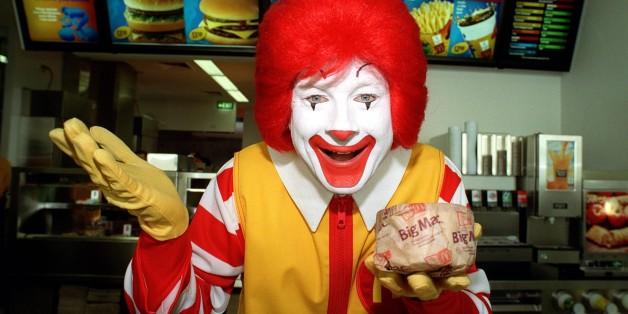 Why You Never See Ronald McDonald Eating McDonald's Food