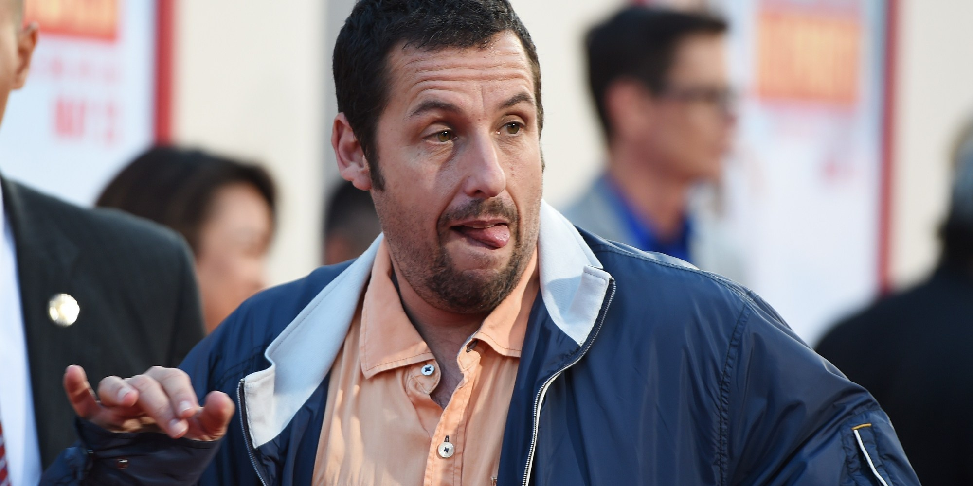 nyt review adam sandlers blended will make your