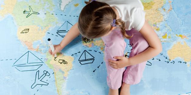 12 Gründe, weshalb Sie ihren Kindern die Welt zeigen sollten
