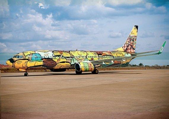 brazil world cup plane