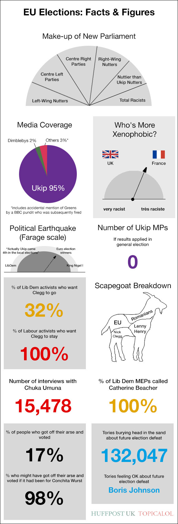 european election infographic spoof