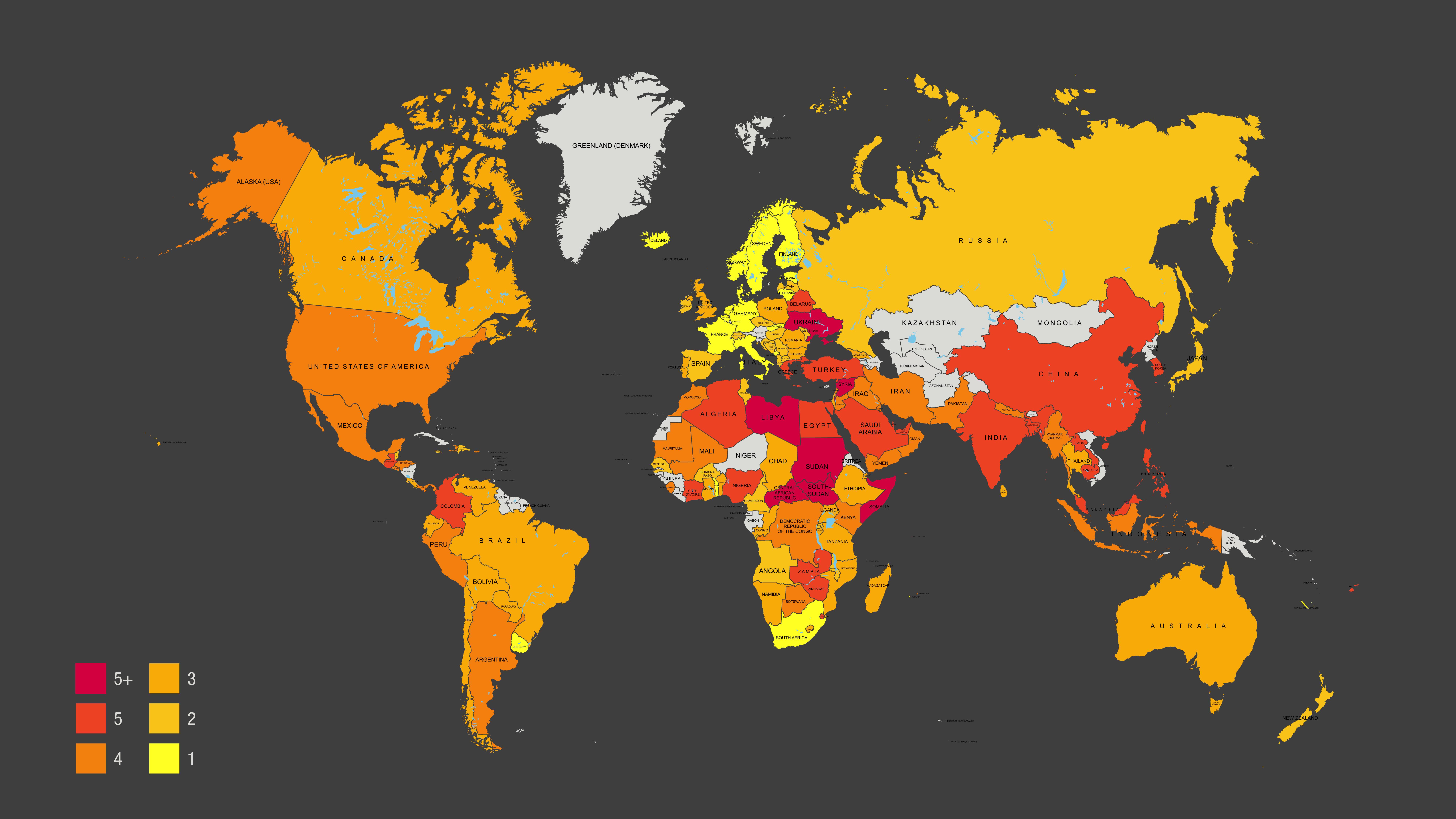 Arbeitsrechte In Diesen Ländern Werden Menschen Am Meisten