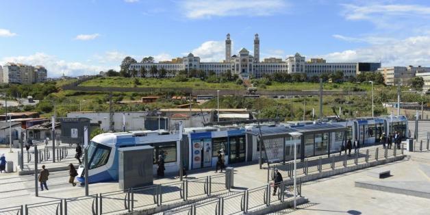Le tramway d'Alger rencontre un grand succès