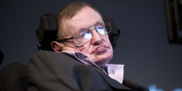 British theoretical physicist professor Stephen Hawking attends a symposium during the opening of the PLANCKS event in Amsterdam, on May 23, 2014