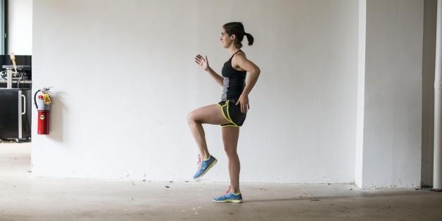 달리기의 달인이 되는 간단한 운동법