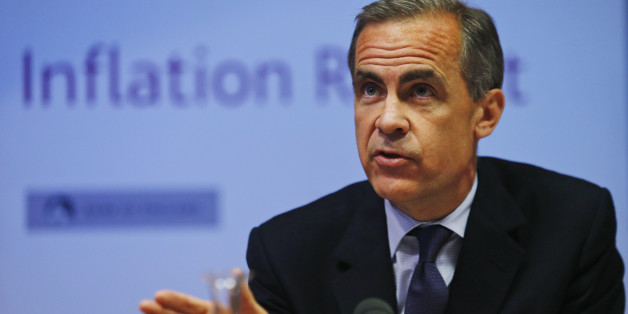 LONDON, ENGLAND - MAY 14:  Mark Carney, the Governor of the Bank of England, speaks during a news conference to present the UK Quarterly Inflation Report on May 14, 2014 in London, England. The bank of England stated that interest rates will remain low for 'some time', a move to reassure againt fears of rising mortgage costs. Mr Carney also pledged to examine the issue of mortgage affordability surrounding falling wages.  (Photo by Lefteris Pitarakis - Pool/Getty Images)
