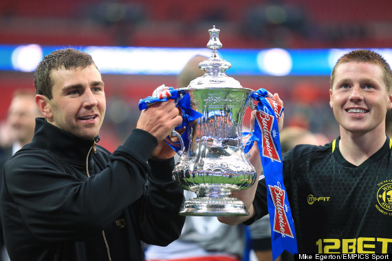 james mcarthur fa cup medal
