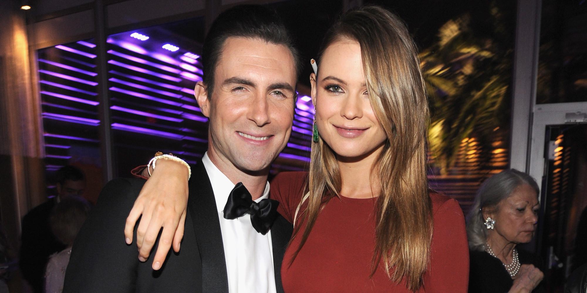 Adam Levine Marries Behati Prinsloo In Front Of Robert