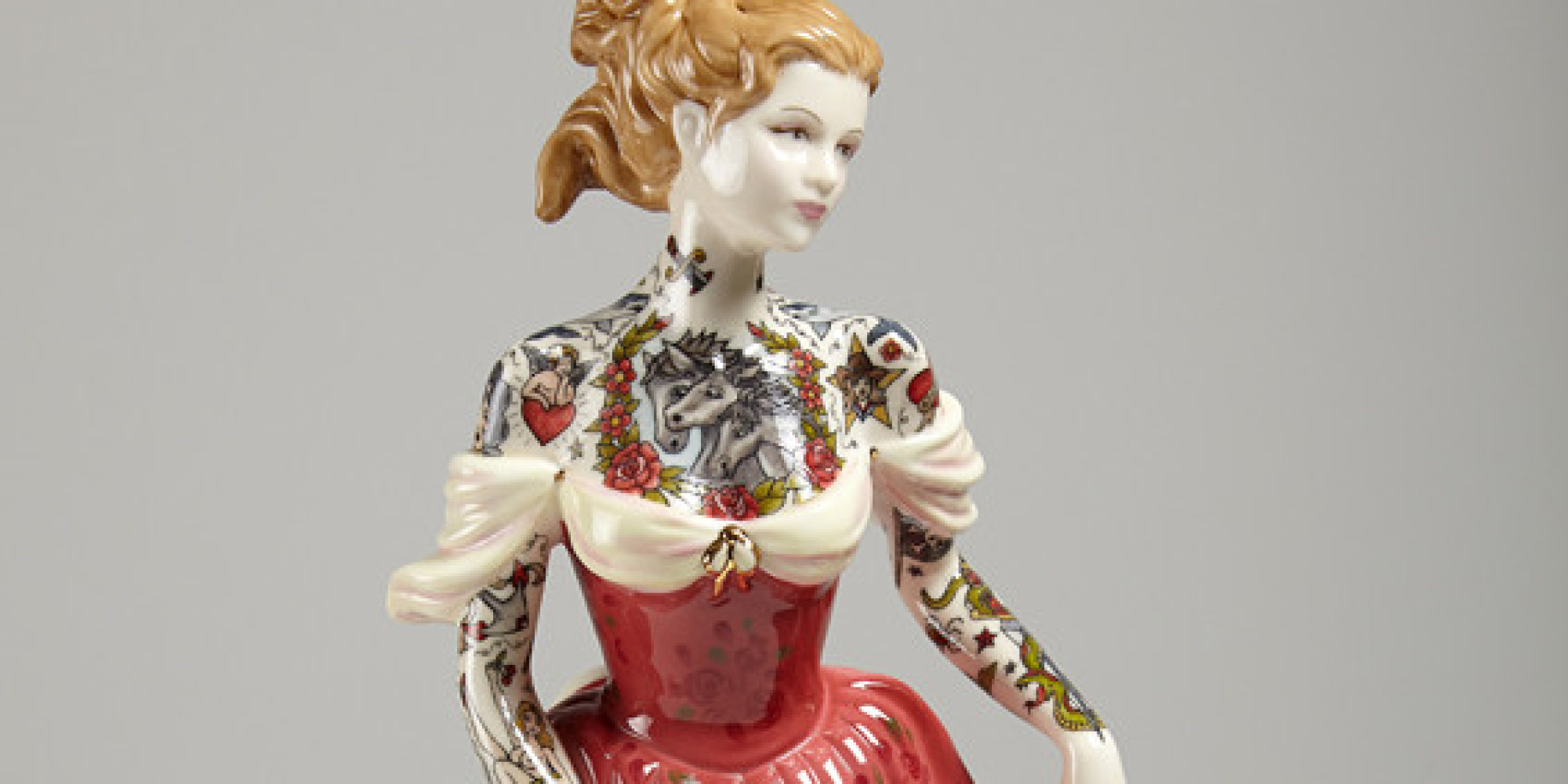 Tattooed Porcelain Dolls Offer An Alternative Way Of