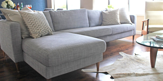 The Secret To Making An Ikea Couch Look Way More Expensive Huffpost