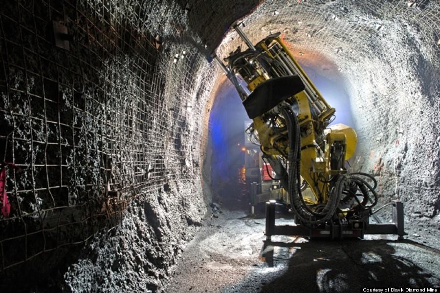diavik underground