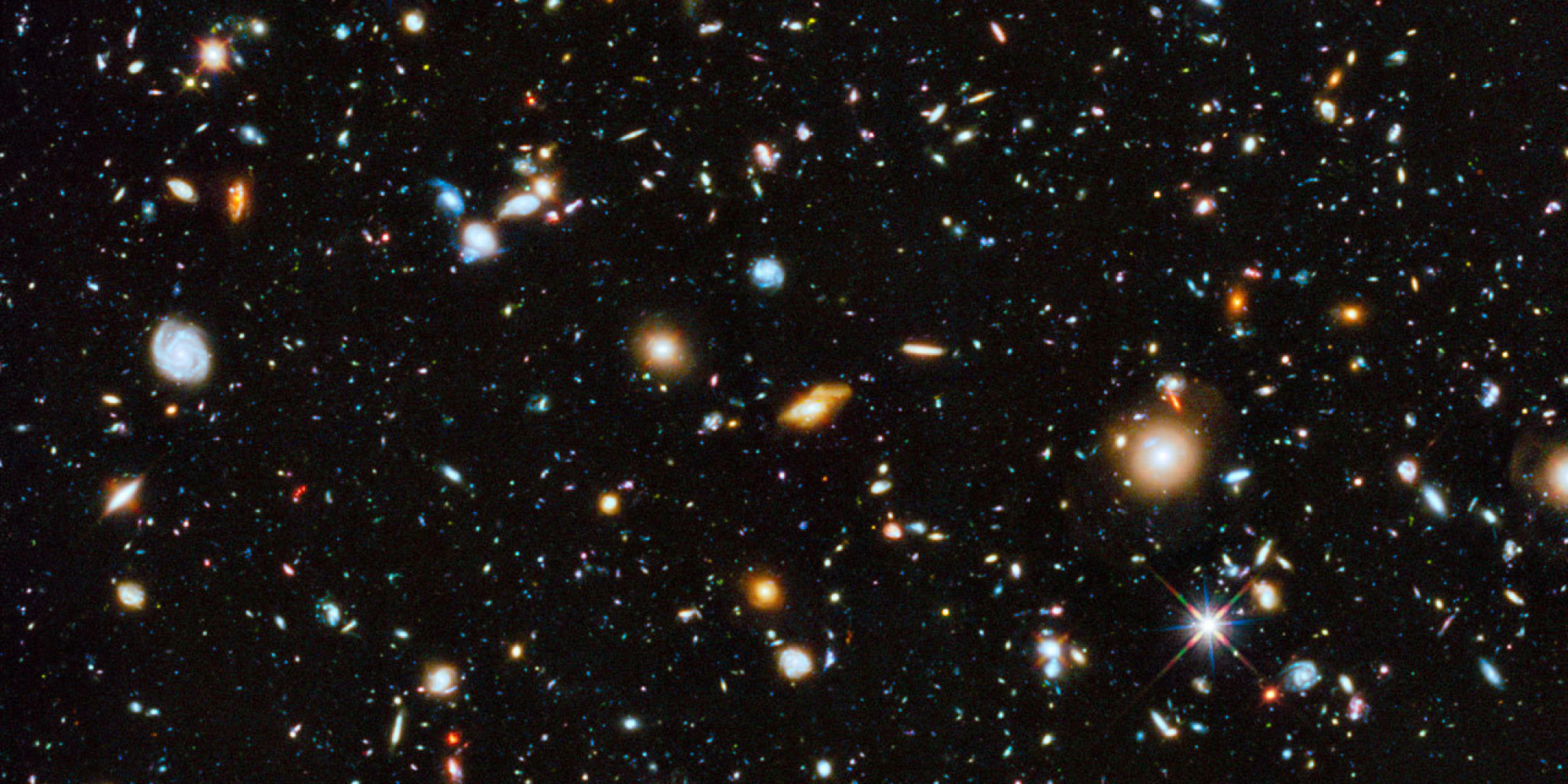 This Amazing Shot Of Galaxies May Be The Hubble Telescopes - Amazing videos hubble telescopes yet
