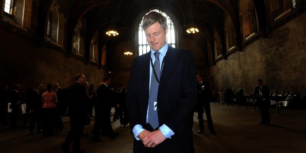 New Conservative MP Zac Goldsmith poses for a photograph in Westminster Hall, Palace of Westminster, London.