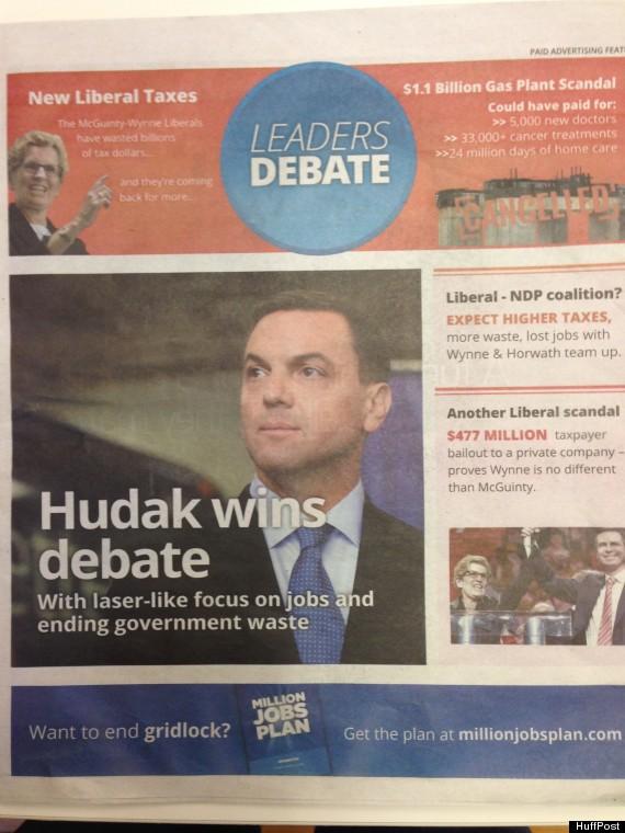 hudak wins 24 hours