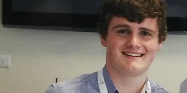 Kid Tech boss and 15-year old entrepreneur Harry Mccann