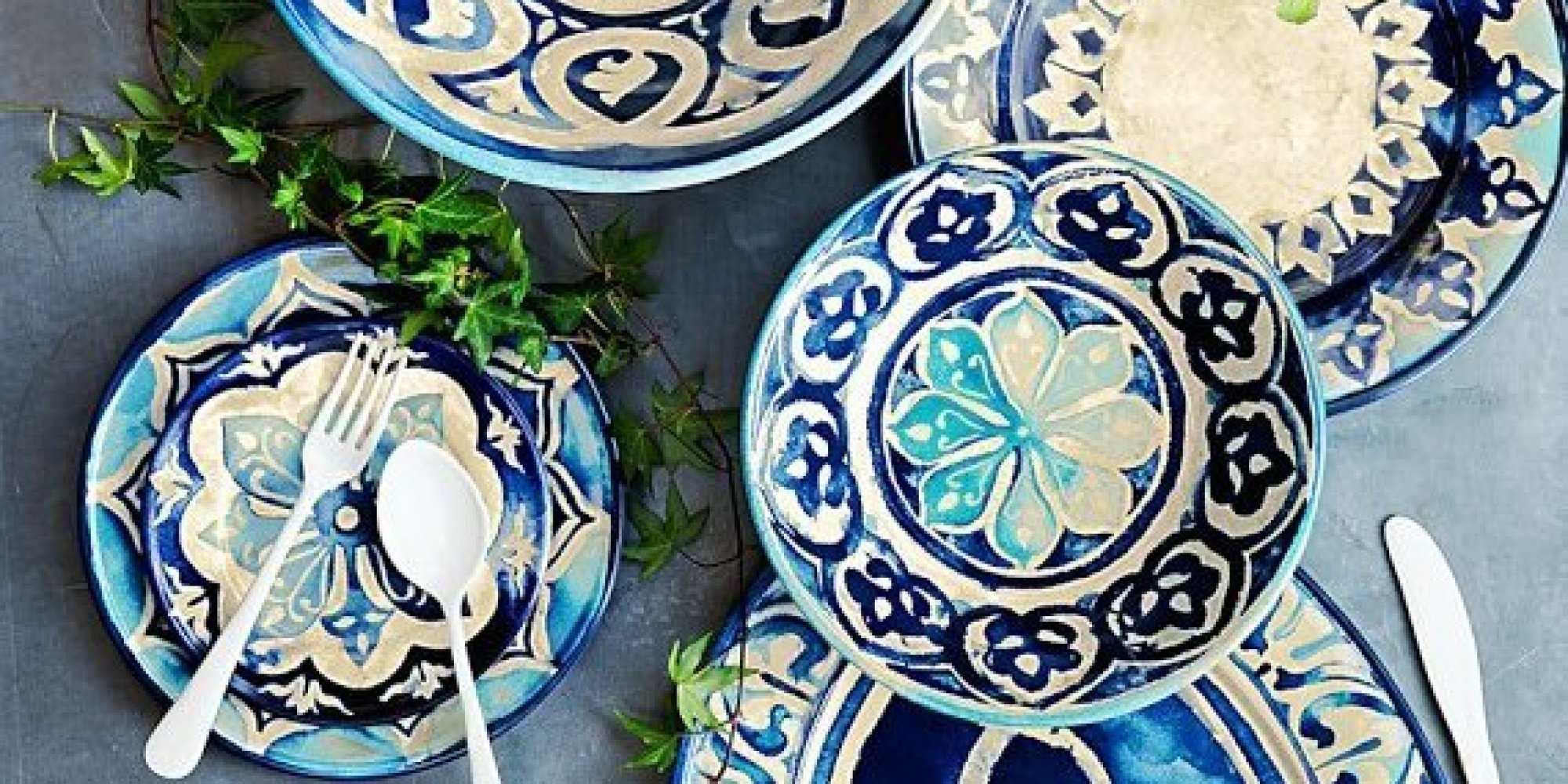 10 Surprisingly Stylish Reasons To Upgrade From Paper Plates To Melamine Dinnerware (PHOTOS) | HuffPost & 10 Surprisingly Stylish Reasons To Upgrade From Paper Plates To ...