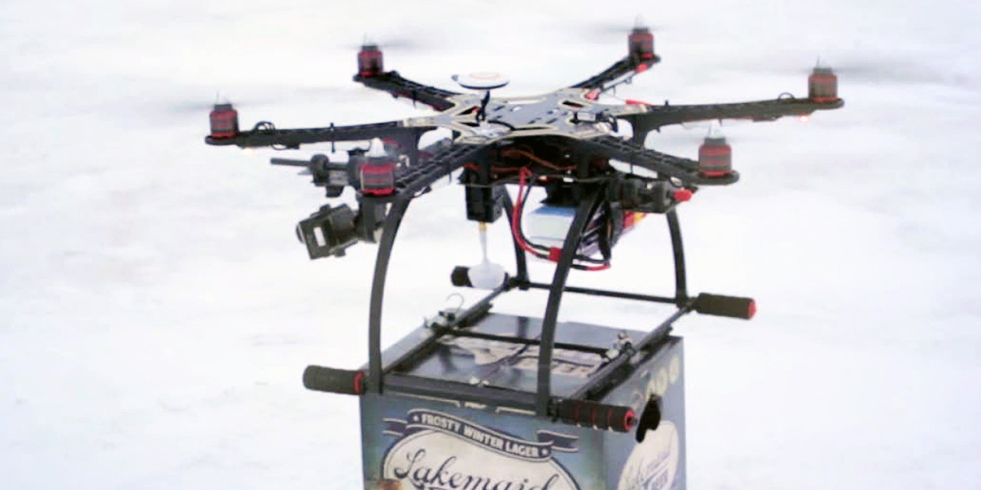 These Are All The Foods You Can Get Delivered By Drones