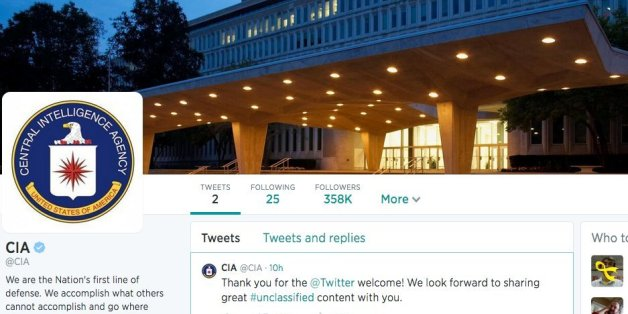 The CIA Joins Twitter And Facebook, Internet Reacts Accordingly (PICTURES)