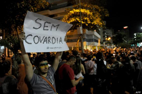 manifestations brésil
