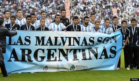 argentina falklands banner