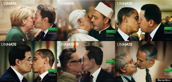 benetton unhate advert