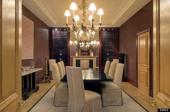 very expensive flat dining room