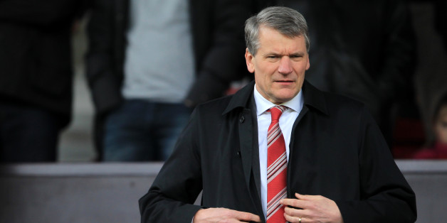 Former Manchester United Chief Executive David Gill, who now works at the FA