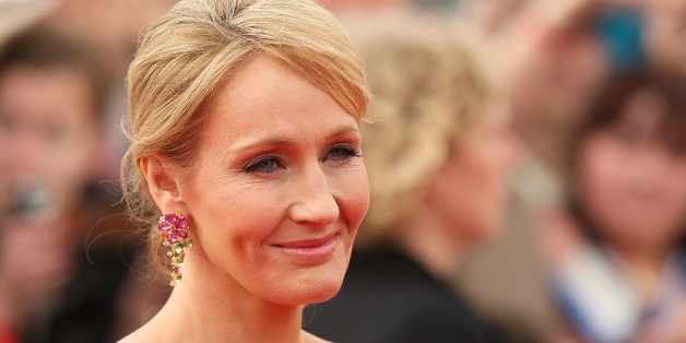 JK Rowling arriving for the world premiere of Harry Potter And The Deathly Hallows: Part 2.