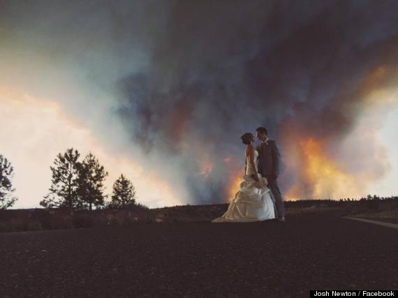 mariage incendie