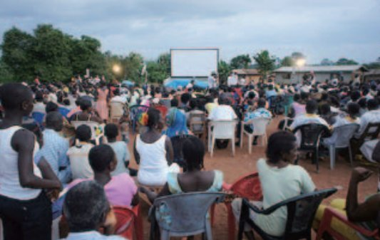 ivory coast world cup public viewing