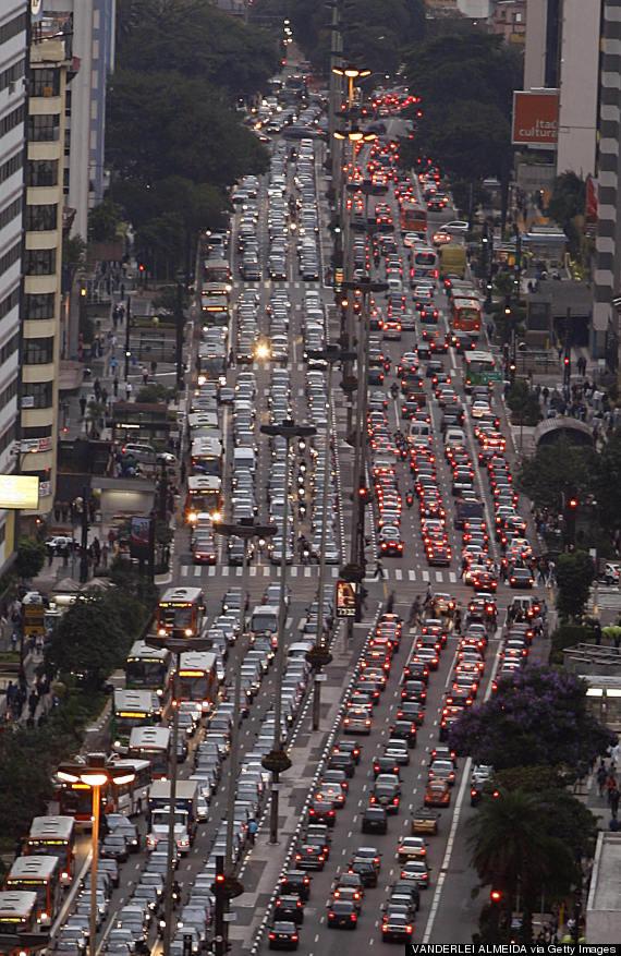 sao paulo road traffic