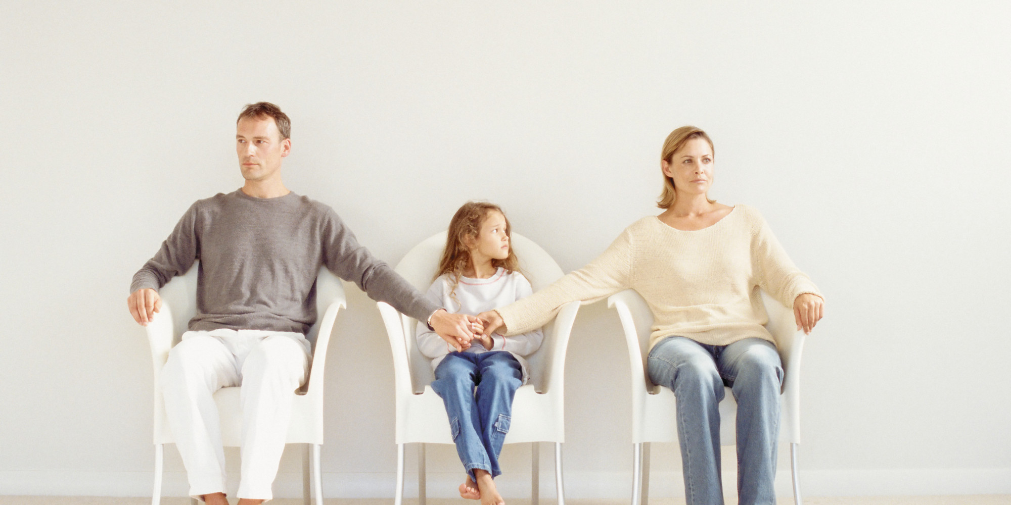 parents divorce three children things kept
