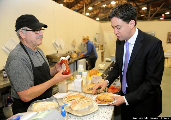 ed miliband bacon