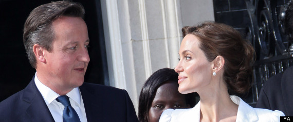 angelina jolie david cameron