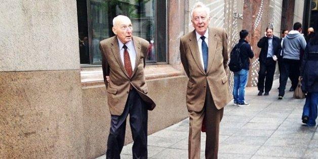 멋쟁이 할아버지들은 이렇게 입는다