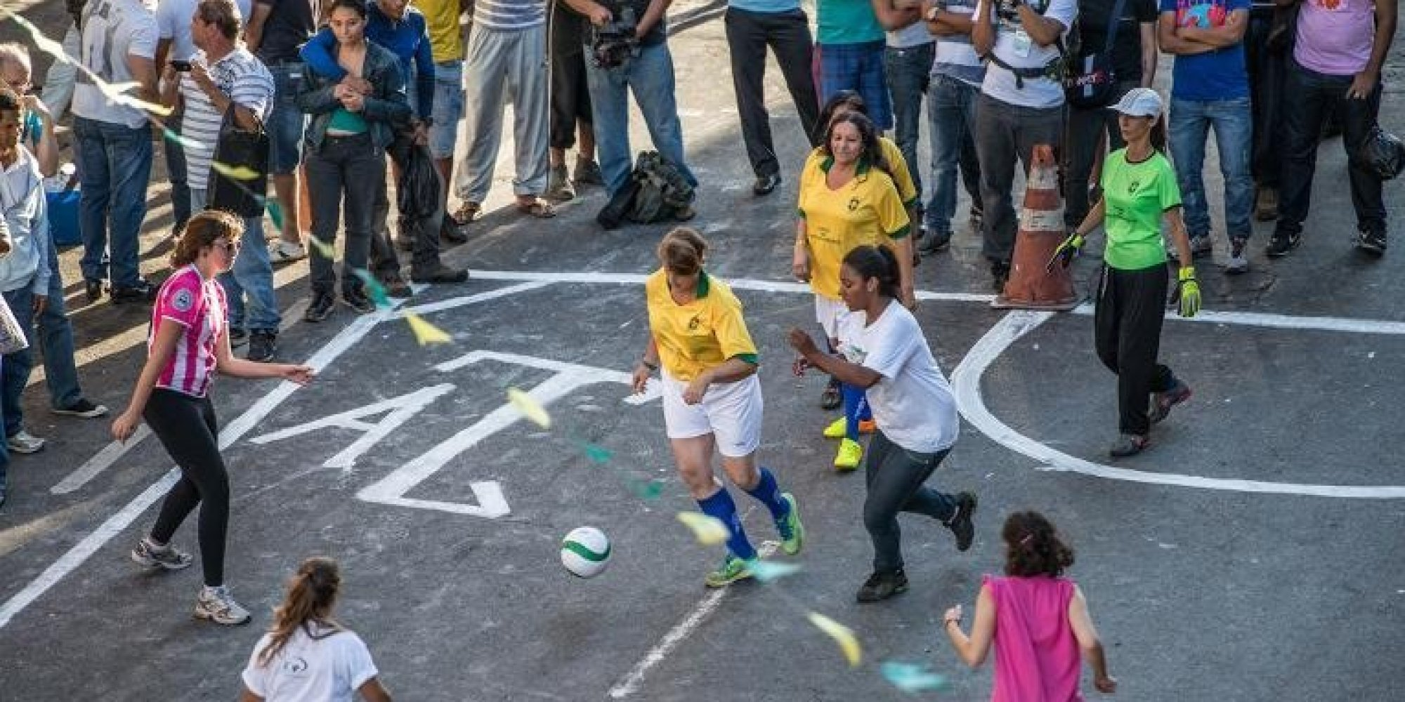 World Cup 2014: Naked Prostitutes Play Football To Raise