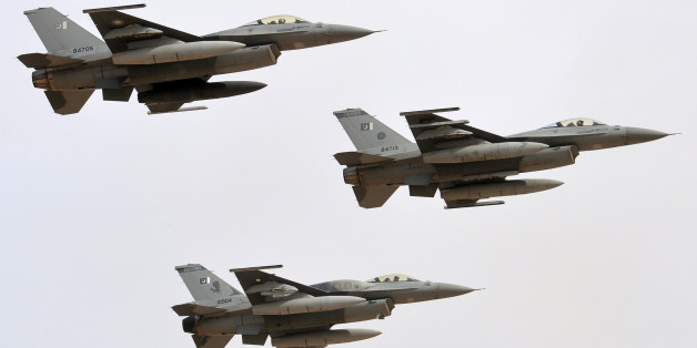 Pakistan's Fighter Jets Strike Insurgents In Full-Scale Offensive