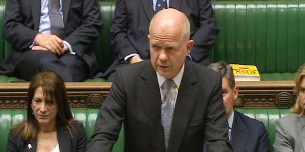 Foreign Secretary William Hague gives a statement in the House of Commons about the crisis in Iraq.
