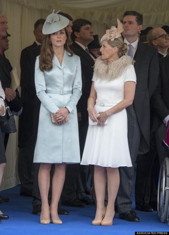 kate middleton order of the garter service