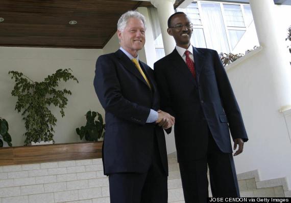 bill clinton paul kagame