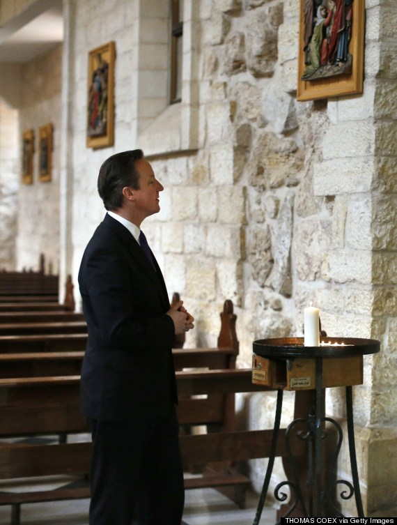 david cameron church