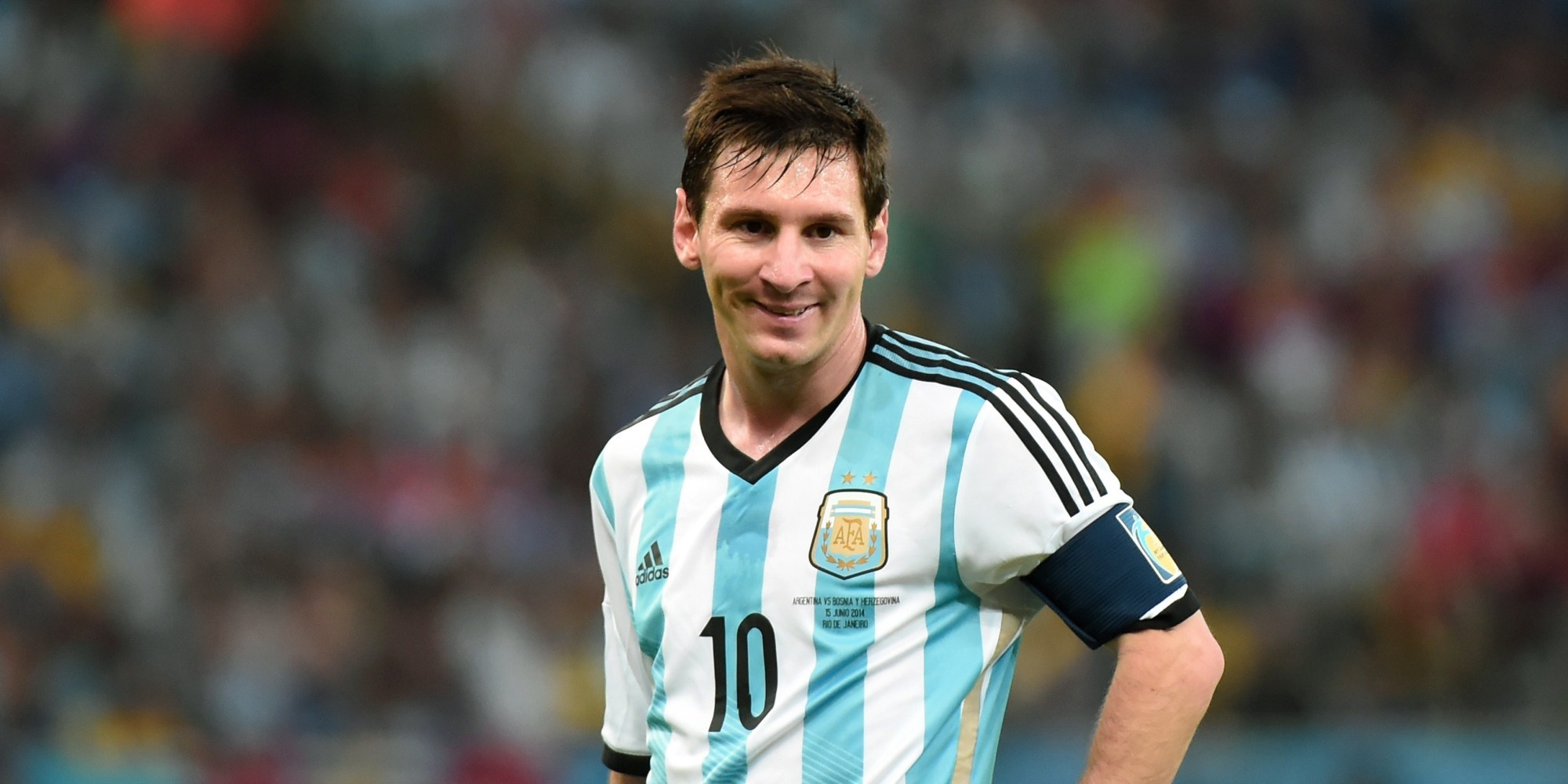 Lionel Messi Makes Up For Pre Game Snub In Big Way PHOTO