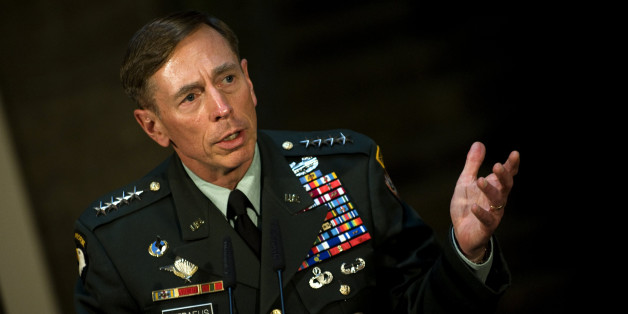 US General David Petraeus, outgoing US commander in Afghanistan and designate Director of the Central Intelligence Agency (CIA), gives a joint press conference with German Defence Minister Thomas de Maiziere (not in picture) on July 19, 2011 in Berlin. Germany forms the third-largest foreign contingent in Afghanistan with some 5,000 troops.     AFP PHOTO    BARBARA SAX (Photo credit should read BARBARA SAX/AFP/Getty Images)