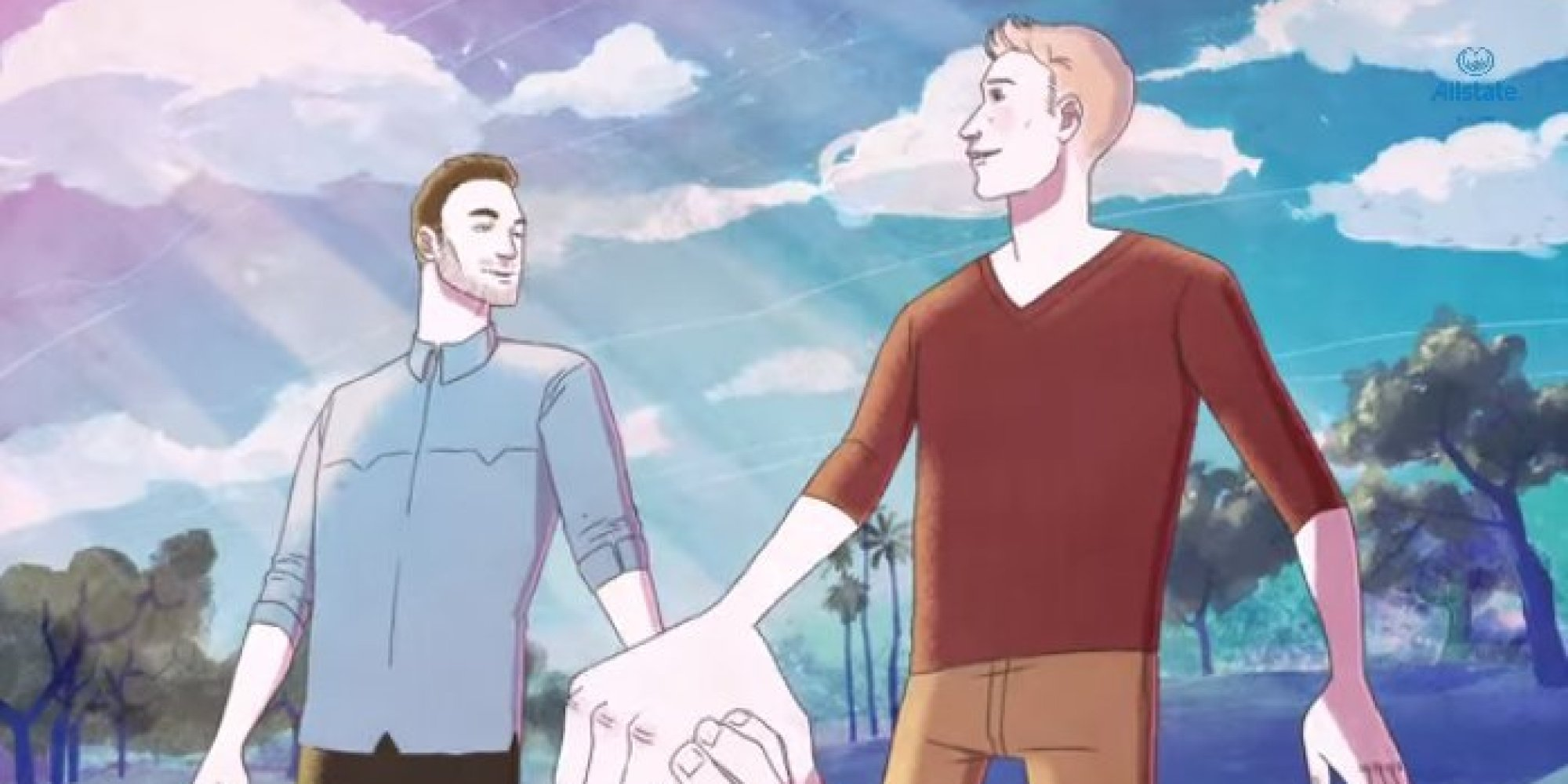 Allstate Insurance Debuts 'Safe In My Hands' Commercial And Gay