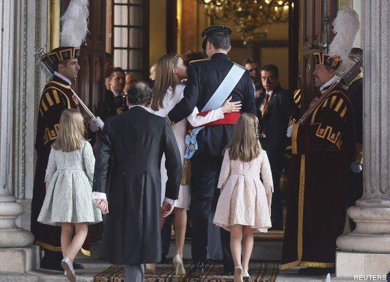 foto vestido letizia coronación