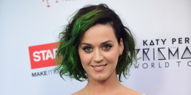 Katy Perry Bleaches Her Eyebrows