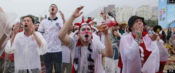 england fans world cup