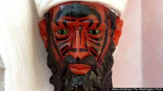 bin laden demon eyes action figure